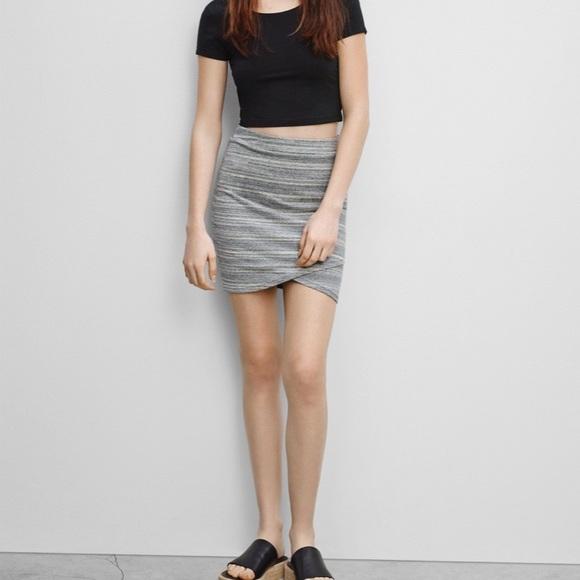 Aritzia Dresses & Skirts - Aritzia Talula Primrose faux wrap mini skirt